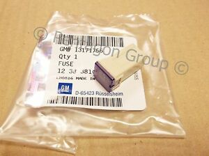 New Genuine Vauxhall 25 Amp Slow Blow Fuse Astra H Astra k Zafira B 13171756
