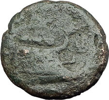 AMPHIPOLIS in MACEDONIA 95BC RARE R1 Ancient Greek Coin JUPITER GALLEY i62303