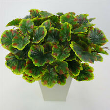 Fake Artificial False Flower Leaf Plants Indoor Outdoor Foliage Bush Garden 6A