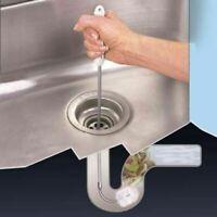 1m Long Flexible Sink Overflow Cleaning Brush Drain Cleaner Drain unblocker