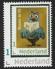 Nederland 2019-1 Meneer de  Uil  Fabeltjeskrant  zegel op z postfris/mnh