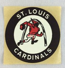NFL 1972 St. Louis Cardinals Schwebel Bread Cloth Football Helmet Sticker - V3