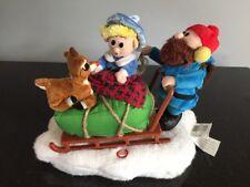 Rudolph Red Nosed Reindeer Misfit Toys Singing Sleigh Yukon Hermey