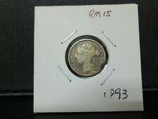 10cent 1893 victoria strait --fine condition