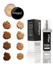 BELLAPIERRE Loose Mineral Foundation & HD Makeup Primer