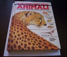 IL GRANDE LIBRO DEGLI ANIMALI 1989 MONDADORI mammiferi insetti anfibi pesci