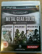 Metal Gear Solid - HD Collection - new sealed