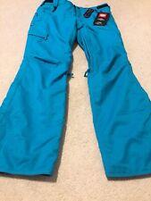 New 686 Womens Patron Ski Snowboard Snow Pants Size Large Blue 10K