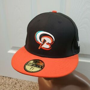 New Era Minor League Baseball Bowie Baysox Baltimore Orioles Fitted Hat - 7 3/8