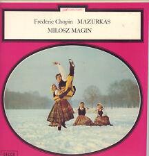 """FREDERIC CHOPIN (MILOSZ MAGIN) """" MAZURKAS """" BOX 2 LP NUOVO DECCA"""