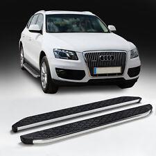 Audi Q5 Baujahr 2008 bis 2016 Aluminium Trittbretter Hitit chrom mit TÜV und ABE