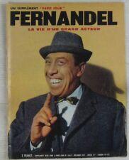 Fernandel Revue supplément Paris jour 1971