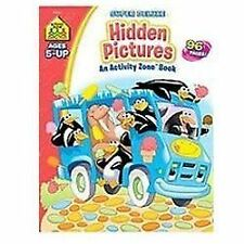 Hidden Pictures Activity Zone Super Deluxe by School Zone (2008, Paperback)