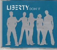 (DG468) Liberty, Doin' It - 2001 DJ CD