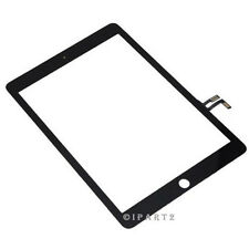 Touch Screen Digitizer Top Outer Front Glass Panel for Apple iPad Air 1 (Black)