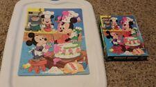 Vintage 1986 Golden Walt Disney's Mickey Mouse Jigsaw Puzzle 100 Piece