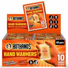 Hothands Hand and Foot Heat Warming warmer 20 pair each=40 pairs cheapest price