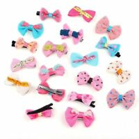 30pcs Mix Styles Assorted Baby Kids Girls Bow Hair Pin Clips Hair Jewelry HOT