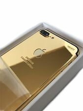 24K Real Gold plated Apple iPhone 7 Plus - 256GB Unlocked Smartphone - White