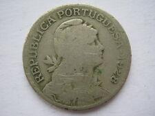 Portugal 1928 copper nickel 1 Escudo Fair