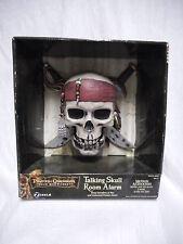 RARE Pirates of the Caribbean Talking Skull and Room Alarm  MINTin BOX