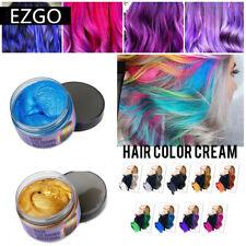 Temporary Hair Color Wax Mud Unisex DIY Hair Dye Long Lasting Fashion Style Wax