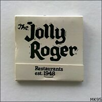 The Jolly Roger Restaurants Matchbook (MK95)