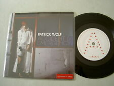 "PATRICK WOLF Accident & Emergency 7"" posterbag vinyl single"