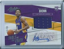 2015-16 Panini Absolute Anthony Brown Rookie Los Angeles Lakers Auto Jersey