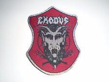 EXODUS THRASH METAL WOVEN PATCH