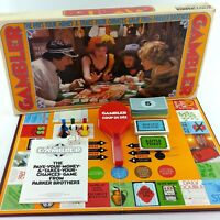 Gambler Board Game Vintage 1975 Original First Edition Complete Canada Rare