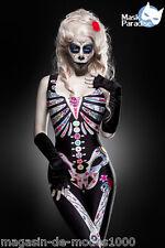 Mexican Skull Kostüm  Halloween Fasching Karneval Gr.34-36-38