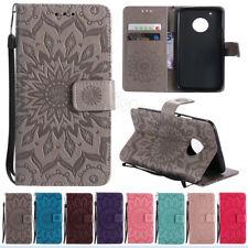 For Motorola Moto G4 C E4 G5 G5S Plus Luxury Flip Card Wallet Leather Case Cover