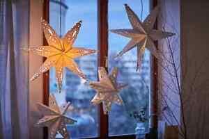 Ikea Strala choice of Christmas wedding party Star Light lamp shade
