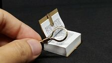 Vintage Antique Book Miniature DollHouse Collectible&Miniature Magnifying Glass