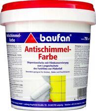Baufan Antischimmel-Farbe 750 ml weiß Innen-Wandfarbe abtönbar Langzeitschutz
