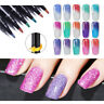 LEMOOC 5ml Nail Gel Pen Temperature Color Changing UV Gel Soak Off Gel Polish
