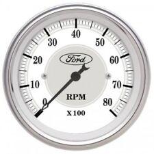 """Auto Meter 880088 3-1/8"""" Ford Masterpiece In-Dash Tachometer Gauge, 0-8,000 RPM"""