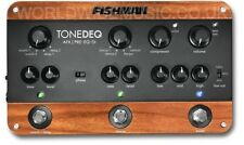 FISHMAN tonedeq ACOUSTIC INSTRUMENT PREAMP, EQ, effetti digitali e D.I. Box