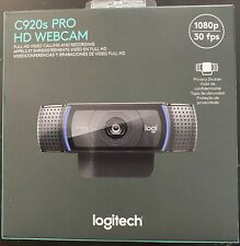 Logitech C920s Pro HD 1080p Webcam with Privacy Shutter BRAND NEW * SHIPS TODAY!