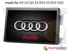 AUTORADIO GPS NAVIGATORE TOUCH AUDI A4 A5 Q5 S5 SQ5 RS4 LCD HD USB SD BLUETOOTH