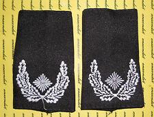 Schulterklappen Rangabzeichen Heer Major weiß schwarz  ##F1609