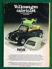 OC66 Pubblicità Advertising Clipping 19x13 cm (1975) WOLKSWAGEN POLISTIL