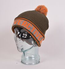 NWOT ACTIVE SNOWBOARDING BEANIE $28 Forest Green/ Orange 100% Arcylic