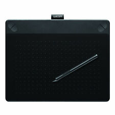 Wacom Intuos Art Pen And Touch Medium Graphics Tablet – Black Tablets/Boards &