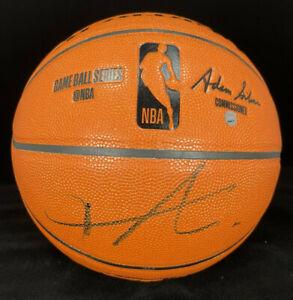 Frank Ntilikina Autographed / Signed Spalding Game Replica Basketball - Knicks