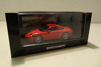 Porsche 911 Carrera S Typ 991 - 2012 indian red - Minichamps 1:43