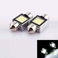 2pc 12V 31MM LED Festoon Interior Car Light Bulb Bright White Dome Lamp NEW