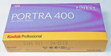 Kodak Portra 400 ISO boite de 5 films en 120, péremption avril 2019