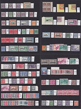 St Lucia. 1902-1951. Fine mint selection on four stockcards.